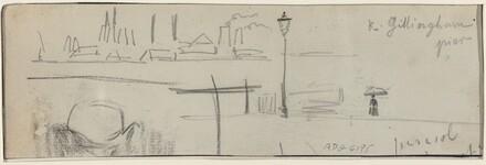 Gillingham Pier, London [verso]