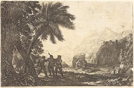 Landscape with Brigands (Scene de brigands)