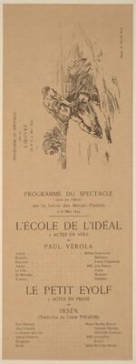 L'Ecole de l'idéal; Le Petit Eyolf