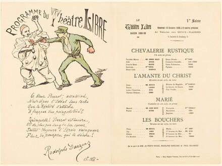 Chevalerie rustique; L'Amante du Christ; Marié; Les Bouchers
