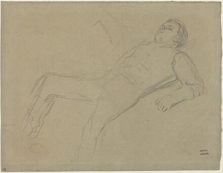 Fallen Jockey (study for Scene from the Steeplechase: The Fallen Jockey)