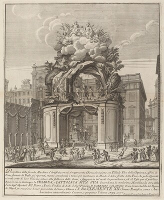 Jupiter and Minerva and the Forge of Vulcan, for the Chinea Festival