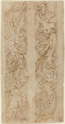 Grotesque Decorations for Wall Panels