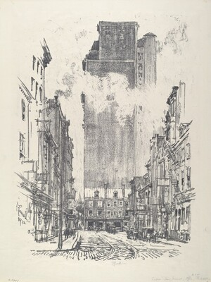 Down Sansom Street