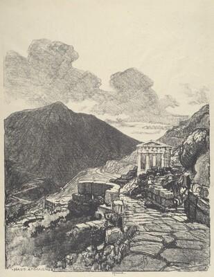 The Treasury of Athens, Delphi