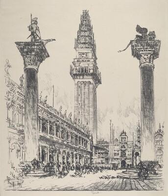 Venice, Rebuilding the Campanile