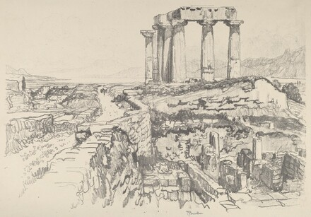 Corinth, towards the Gulf