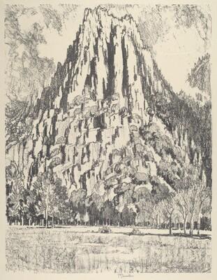 Buttresses, Yosemite
