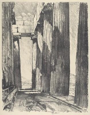 The Portico of the Parthenon