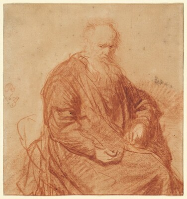 Seated Old Man