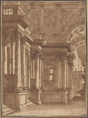 Interior of a Palace