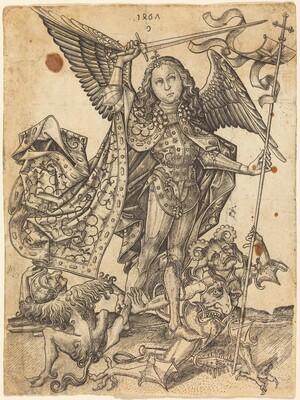 Saint Michael Defeating the Devils