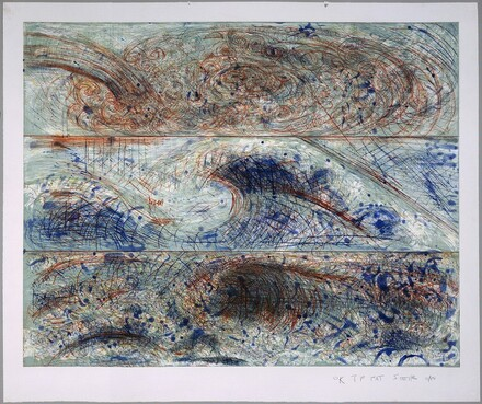 The Wave - From the Sea - After Leonardo