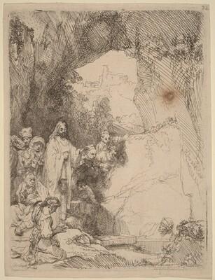 The Raising of Lazarus: Small Plate