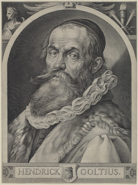 Portrait of Hendrick Goltzius