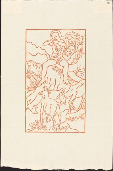 Fourth Book: Daphnis Plays to His Goats (Daphnis joue de la flute au milieu de ses chevres)
