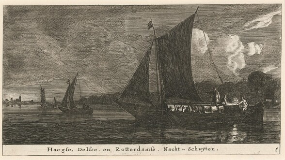 The Night-Boats to The Hague, Delft, and Amsterdam