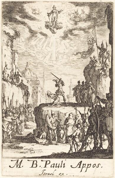 The Martyrdom of Saint Paul