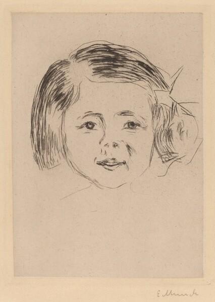 Head of a Girl (Kinderkopf)