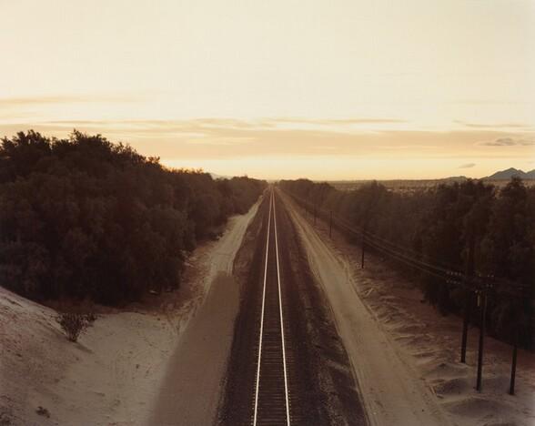 Train Tracks, Colorado Desert, California