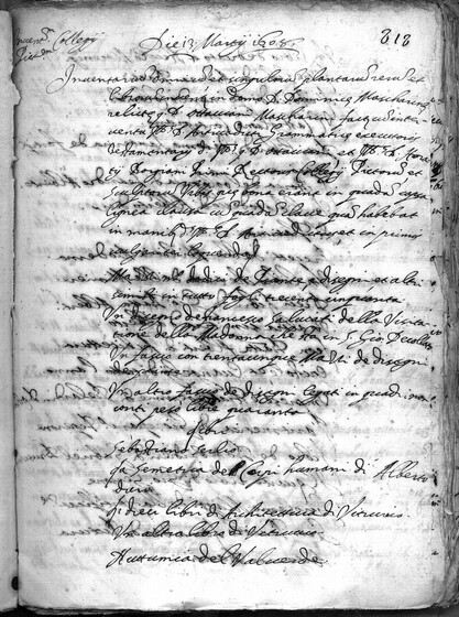 ASR, TNC, uff. 11, 1608, pt. 1, vol. 76, fol. 818r