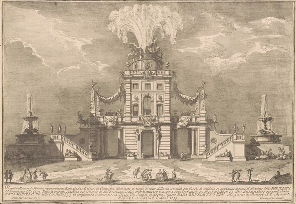 The Seconda Macchina for the Chinea of 1755: A Royal Hunting Lodge