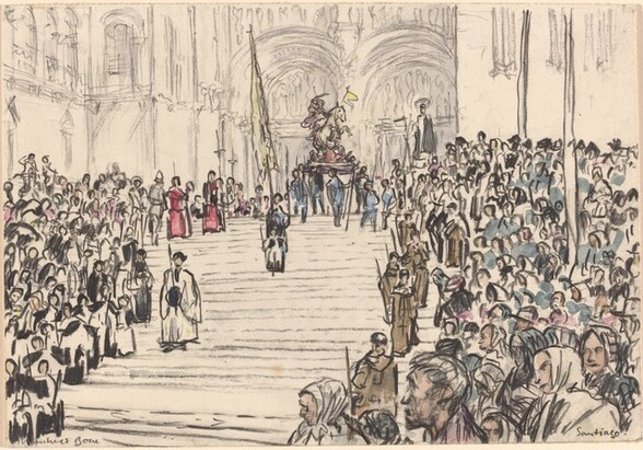 Corpus Christi Procession, Santiago