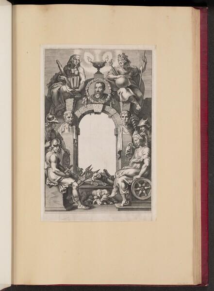 Title Page for Justus Lipsius, Opera Omnia, I