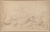 Study for The Battle of La Hogue [recto]