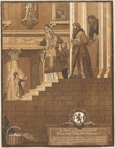 Presentation of the Virgin in the Temple (Right Panel)
