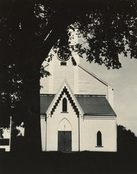 Church and Tree