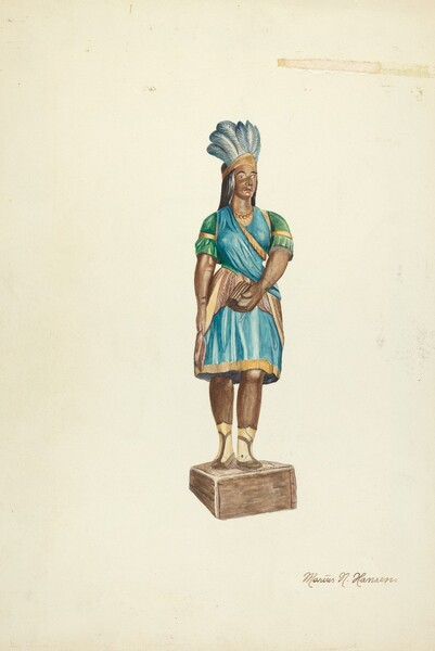 Wooden Indian (Female)