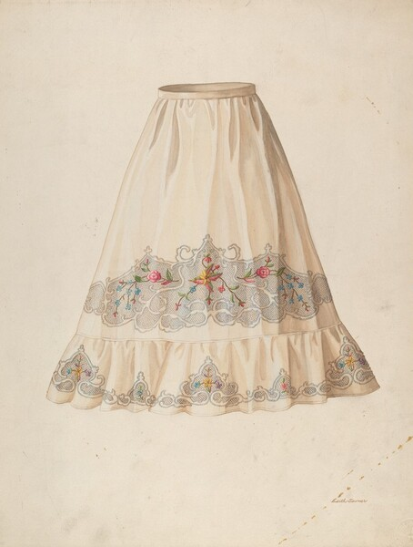 Skirt from Wedding Dress