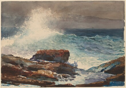 Winslow Homer, Incoming Tide, Scarboro, Maine, 1883