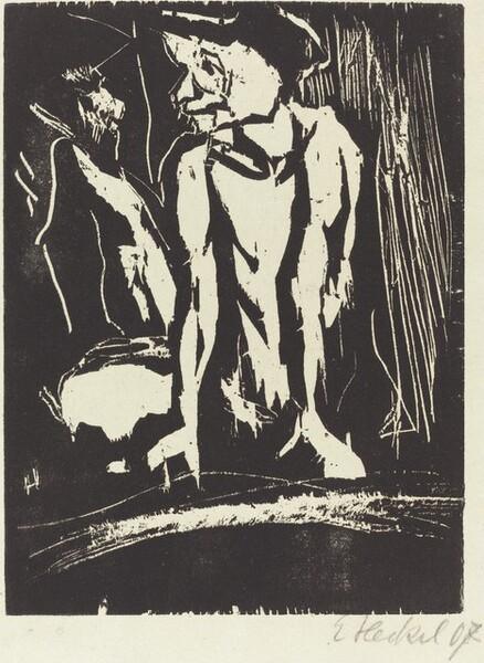 Hockender (Crouching Figure)