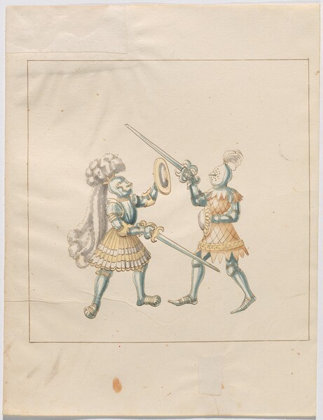 Freydal, The Book of Jousts and Tournament of Emperor Maximilian I: Combats on Foot (Jousts)(Volume III): Plate 169