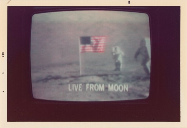 Untitled (Apollo 17 live from the moon)