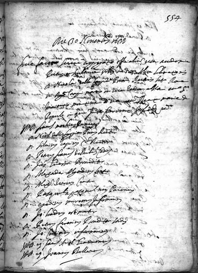 ASR, TNC, uff. 15, 1633, pt. 4, vol. 138, fol. 554r