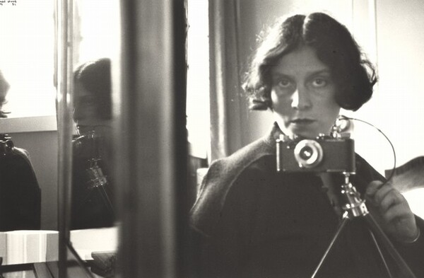 Self-Portrait in Mirrors