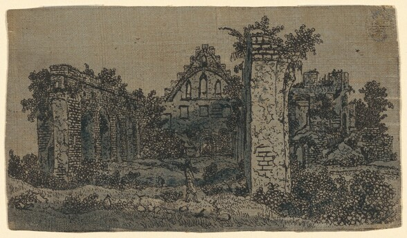 Ruins of the Abbey of Rijnsburg: Small Version
