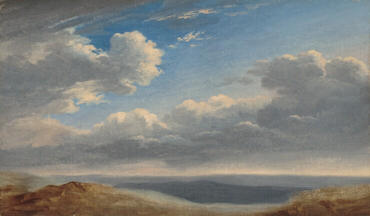 Pierre-Henri de Valenciennes, Study of Clouds over the Roman Campagna, c. 1782/1785