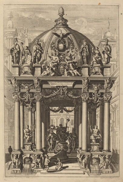 Triumphal Arch for Lotharius II