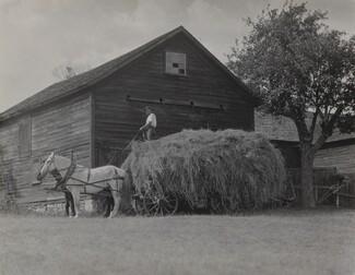 image: The Hay Wagon and Barn
