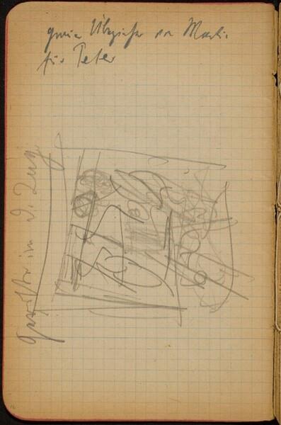 Skizze mit Bezeichnung (Sketch with Inscription) [p. 16]