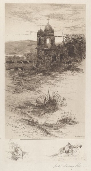 Carmel Mission Before Restoration