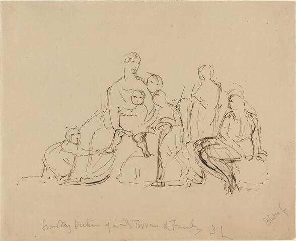 Lady Torrens and Family