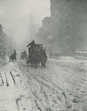 image: Winter, Fifth Avenue