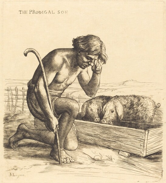 The Prodigal Son, 1st plate (L