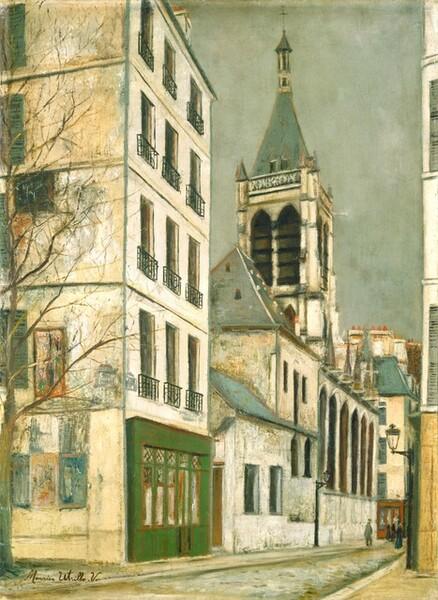 The Church of Saint-Séverin