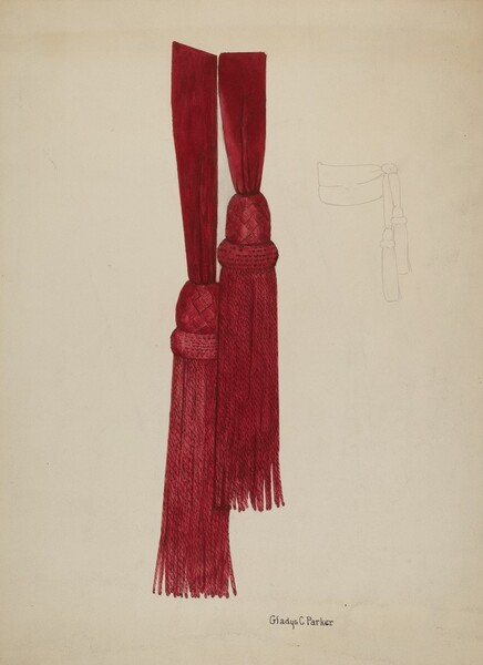 Civil War Sash